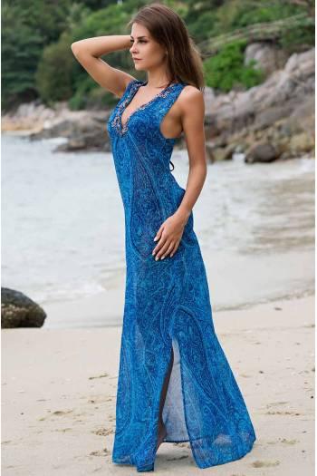 Длинное платье для пляжа Mia-Amore Riviera 8258