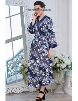 Довгий халат Mia-Amore Pion 8239