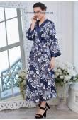 Длинный женский халат Mia-Amore Pion 8239