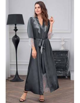 Длинный женский халат Mia-Amore Ingrid 8359