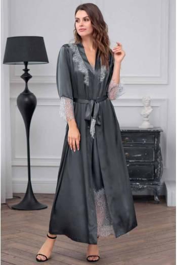 Довгий халат Mia-Amore Ingrid 8359