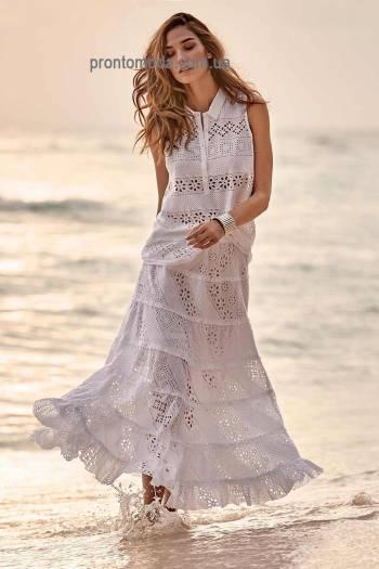 Длинная юбка из прошвы Iconique 19010 IC