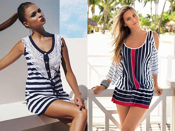 Купить Одежду В Морском Стиле