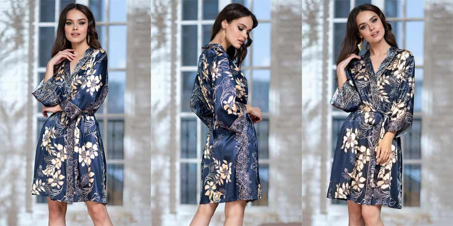 Миа Миа короткие и длинные халаты кимоно