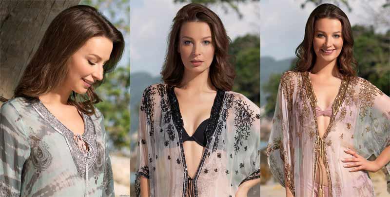 Модные туники с вышивкой