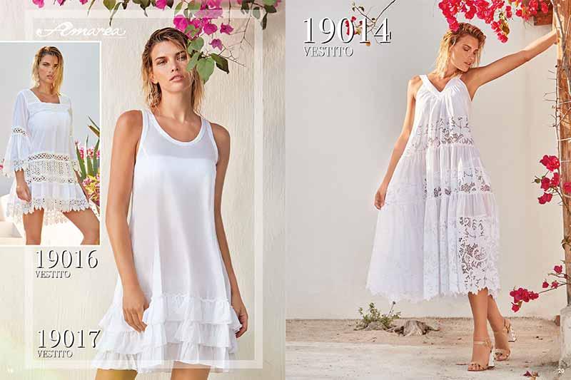 Пляжная мода 2019 в белом цвете