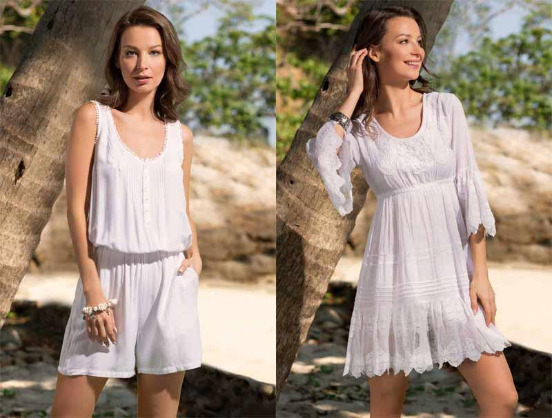 Модные пляжные комбинезоны 2019