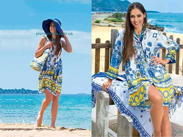 Пляжные Платья И Туники 2017 Доставка