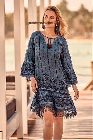 Джинсовая модная одежда 2019