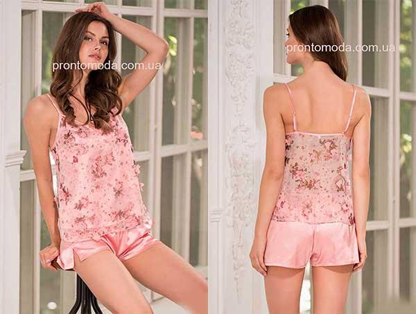 Комплект из топа с шортами Mia-AmoraLily 8092