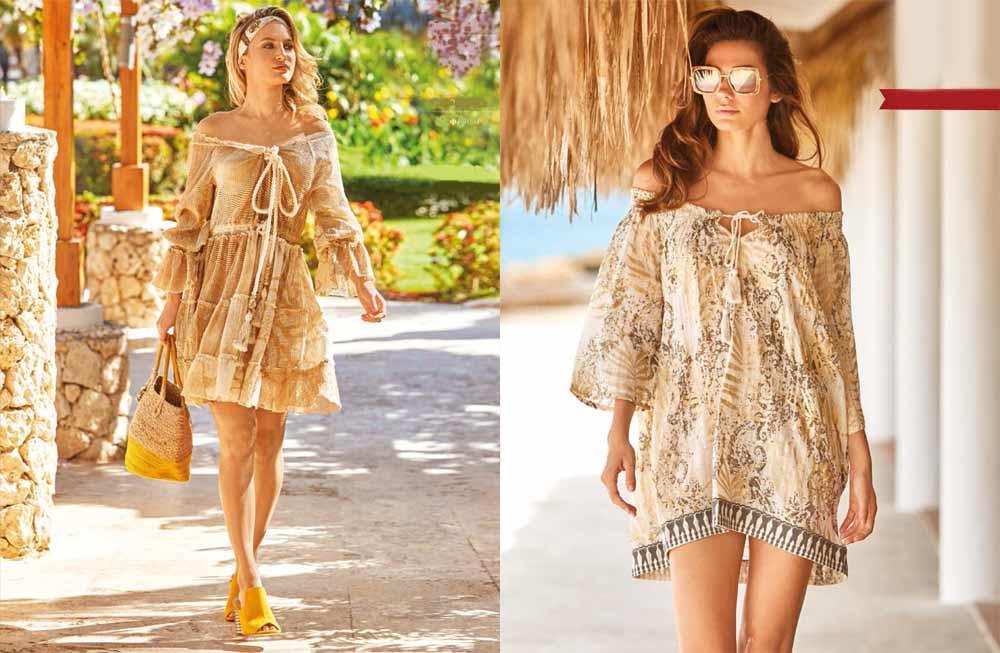 Пляжная молодежная мода 2020