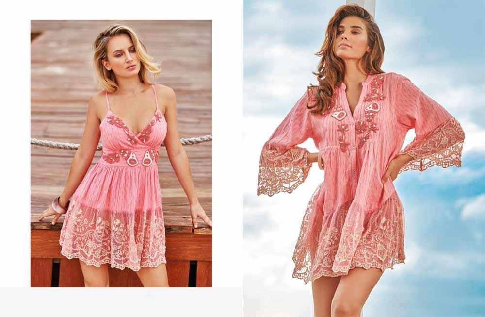 Пляжна мода літо 2020 року - модні туніки 2020