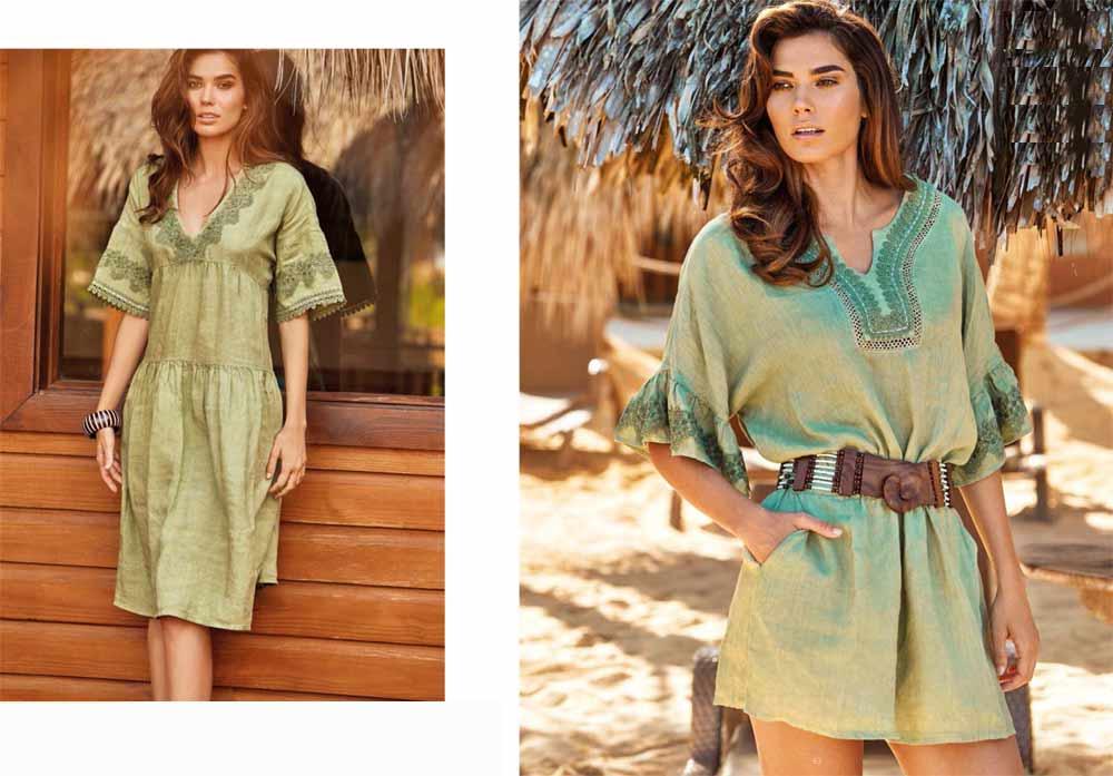 Длинные туники 2020 - каталог пляжной одежды 2020