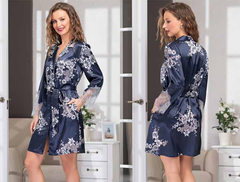 Короткий халат кимоно Миа-Миа Александрия