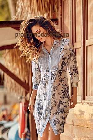 Модные блузки и туники лето 2019