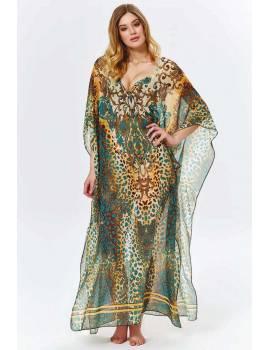 Длинное пляжное платье Argento 9083-1203