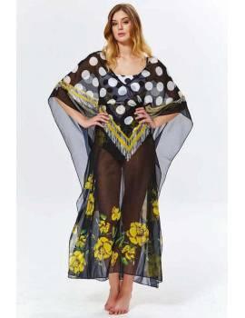 Шифоновое пляжное платье Argento 9083-1233