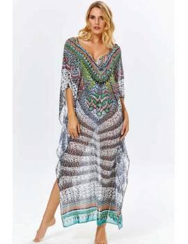 Пляжне плаття оверсайз Argento 9083-1249