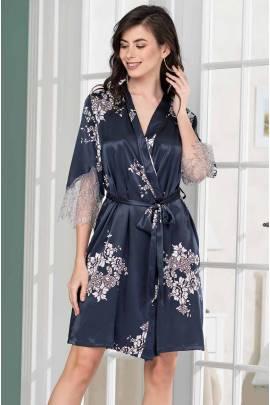 Короткий женский халат Mia-Amore Alexandria 3573