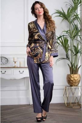 Доиашний комплект с брюками Mia-Amore Armani Gold 3426
