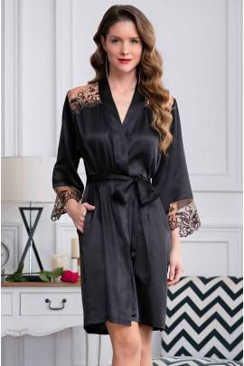 Короткий халат Mia-Amore Amanda 3633