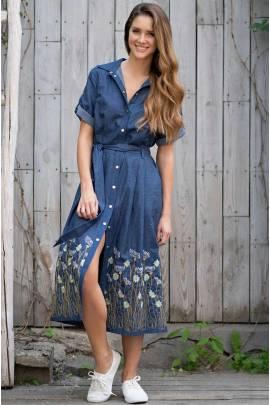 Длинное платье Mia-Amore Arizona 1215