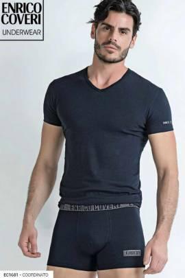 Комплекты Комплект футболка и боксеры Enrico Coveri EC1681