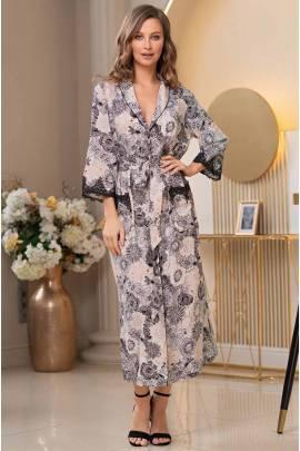 Длинный халат Mia-Amore Doroteya 3749