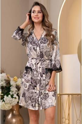 Короткий халат Mia-Amore Doroteya 3747