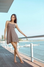 Пляжный сарафан Ora 500115