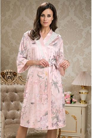 Довгий халат Mia-Mia Edem 5959